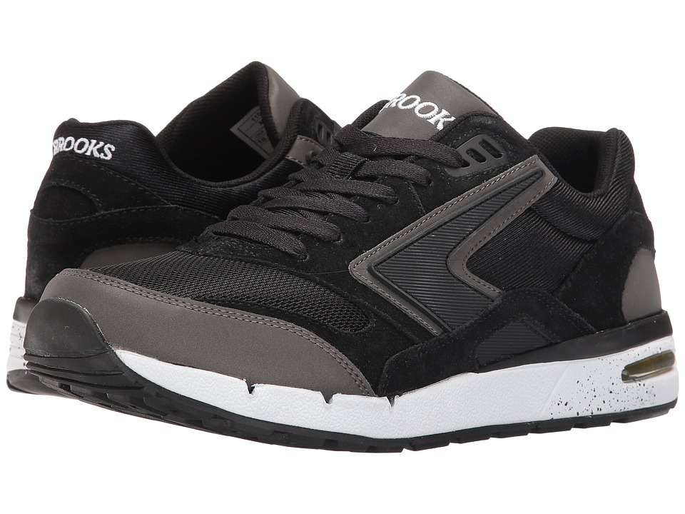 Brooks Heritage Fusion (Black/Black Reflective) Men