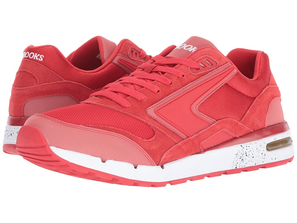 Brooks Heritage - Fusion (High Risk Red/Red Reflective) Men's Shoes
