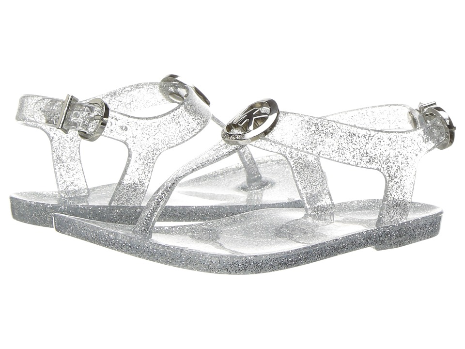 MICHAEL Michael Kors Kids - Jelly Myra (Toddler) (Silver Glitter) Girl's Shoes