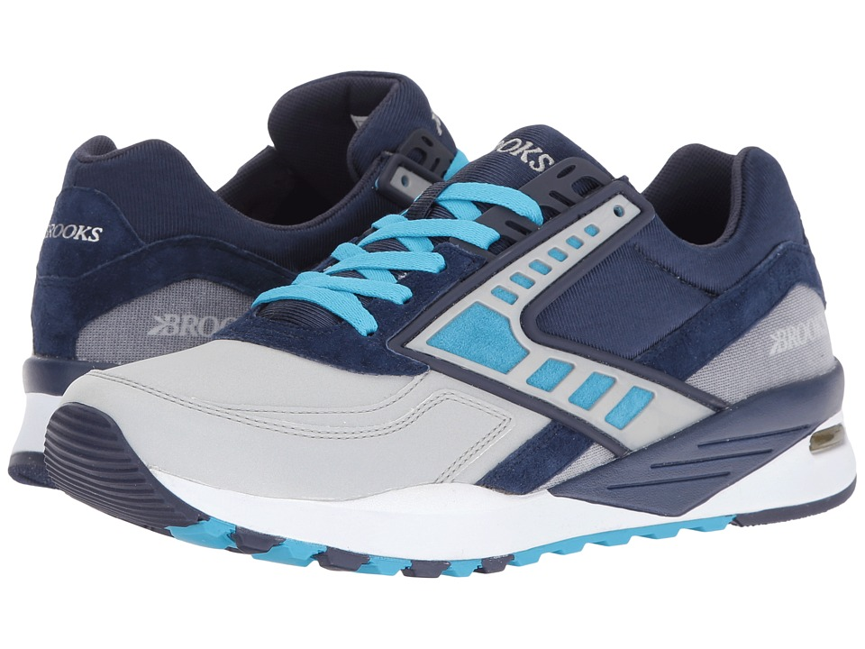 Brooks Heritage - Regent (Peacoat/Cyan Blue/Navy Reflective) Men's Shoes