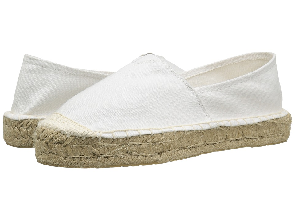 Dirty Laundry Elson Espadrille (White Canvas) Women