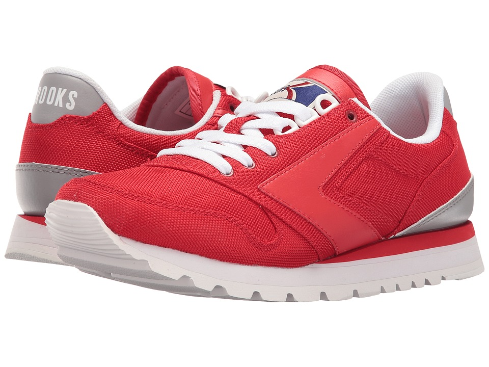 Brooks Heritage Chariot (High Risk Red/Sleet/White) Women