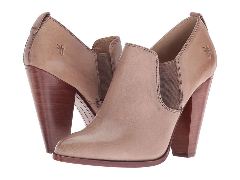 Frye - Remy Slip-On (Cement) High Heels