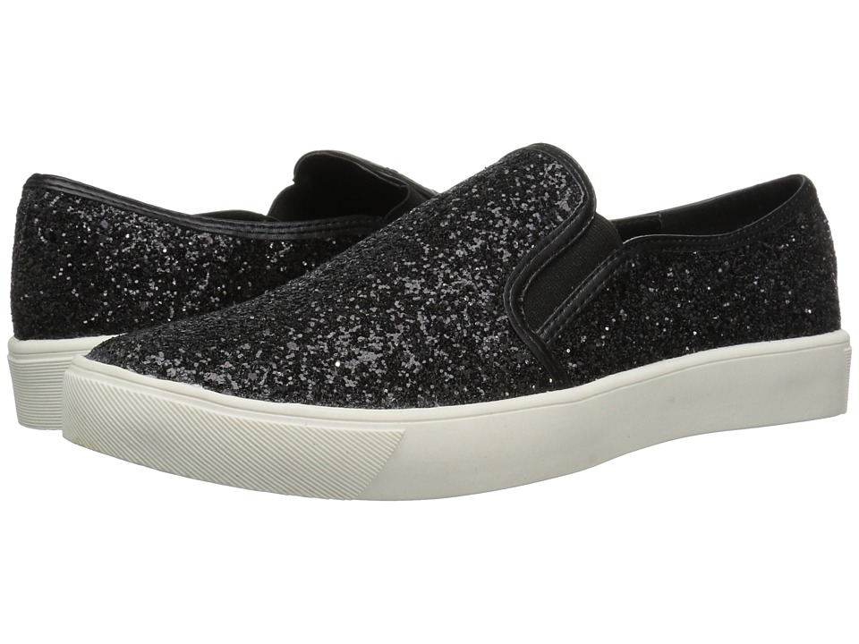 Dirty Laundry - Elwood (Black Glitter) Women's Slip on Shoes
