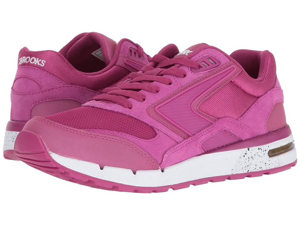 Brooks Heritage - Fusion (Festival Fuchsia/Fuchsia Reflective) Women's Shoes