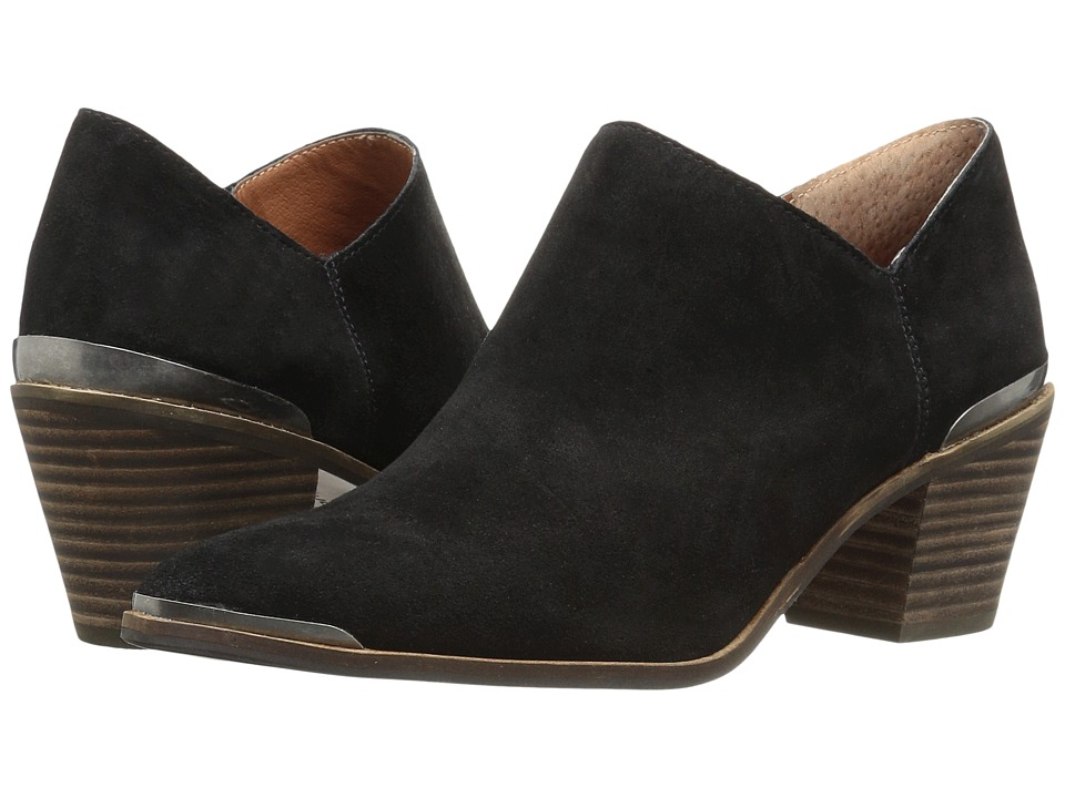 Lucky Brand Landrue (Black Oiled Suede) Women