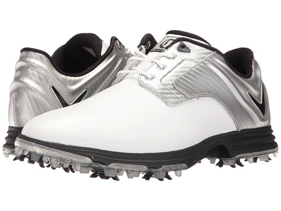 Callaway - Elite Primero (White/Silver) Men's Golf Shoes
