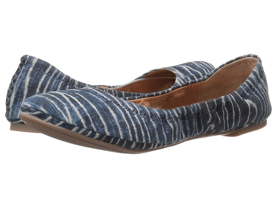 Lucky Brand - Emmie (Dark Denim) Women's Flat Shoes