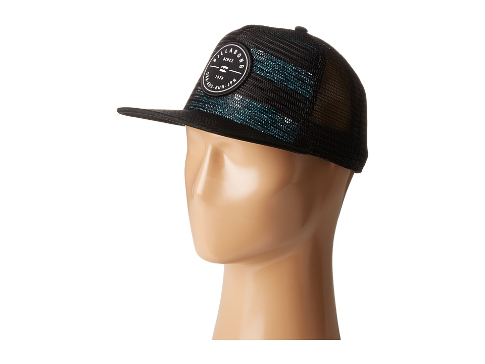 Billabong - Rotor Trucker Hat (Black 1) Caps