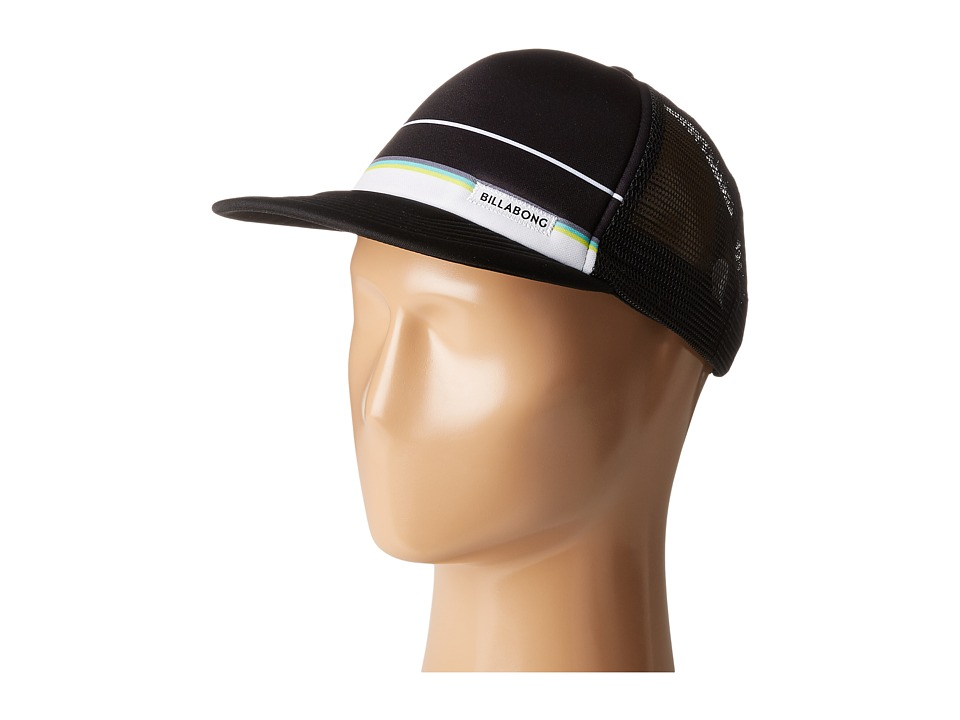 Billabong - Spinner Trucker Hat (Black 1) Baseball Caps