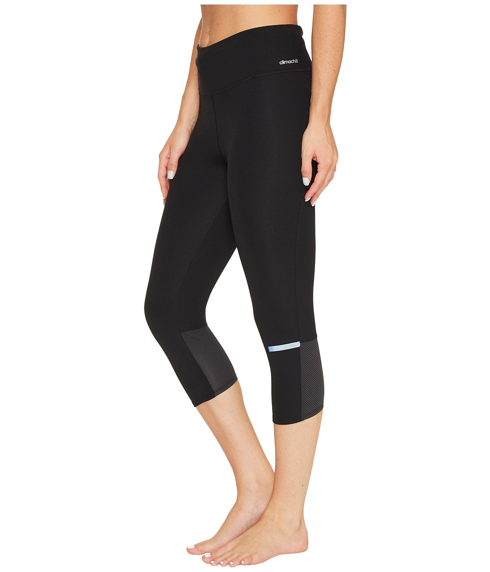 adidas - Supernova Chill 3/4 Tights (Black) Women's Workout