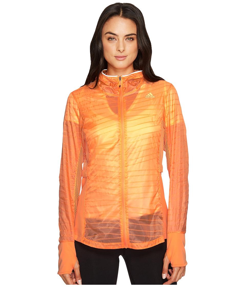 adidas - Supernova Tokyo Jacket (Easy Orange) Women's Coat