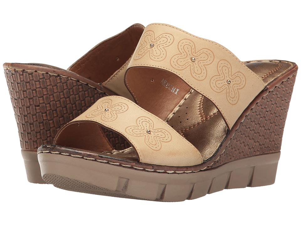 PATRIZIA - Akuchi (Tan) Women's Shoes