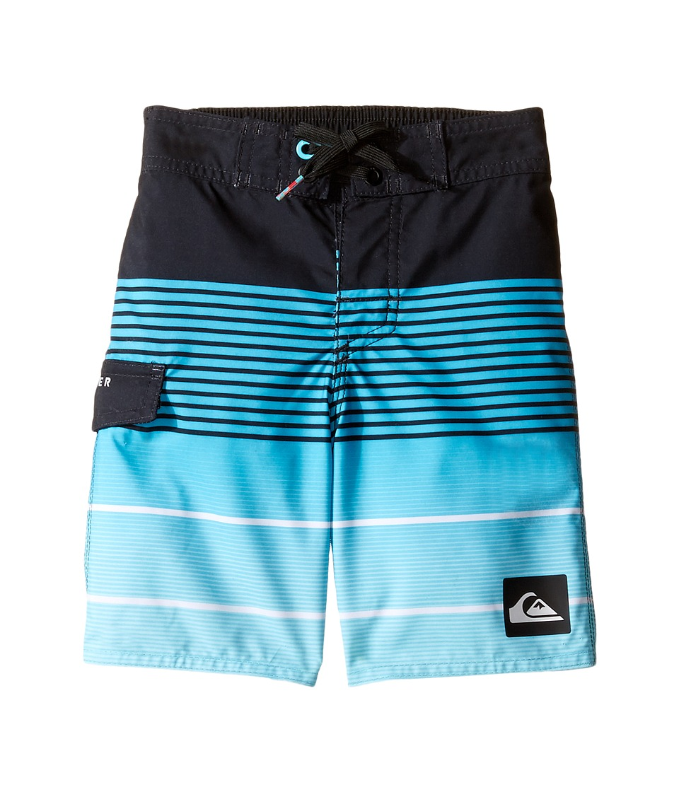 Quiksilver Kids - Division Magic 14.5 Boardshorts (Toddler/Little Kids) (Scuba Blue) Boy's Swimwear
