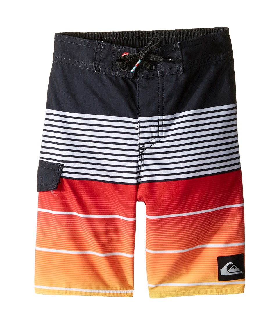 Quiksilver Kids - Division Magic 14.5 Boardshorts (Toddler/Little Kids) (Quik Red) Boy's Swimwear