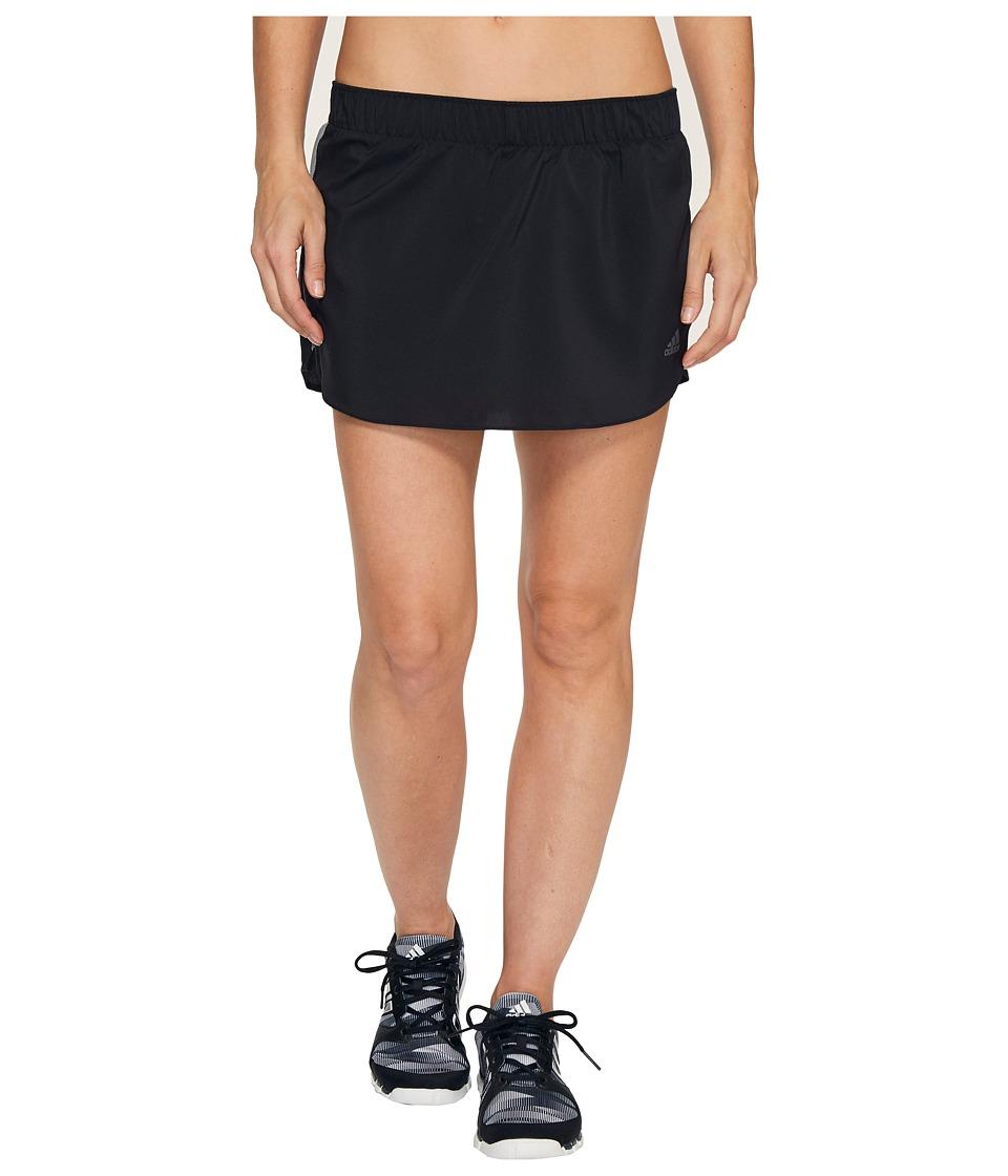 adidas - Response Skort (Black) Women's Skort