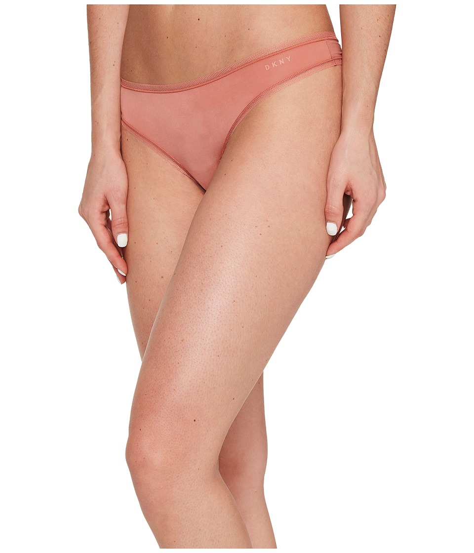 DKNY Intimates - Litewear Low Rise Thong (Canyon) Women's Underwear