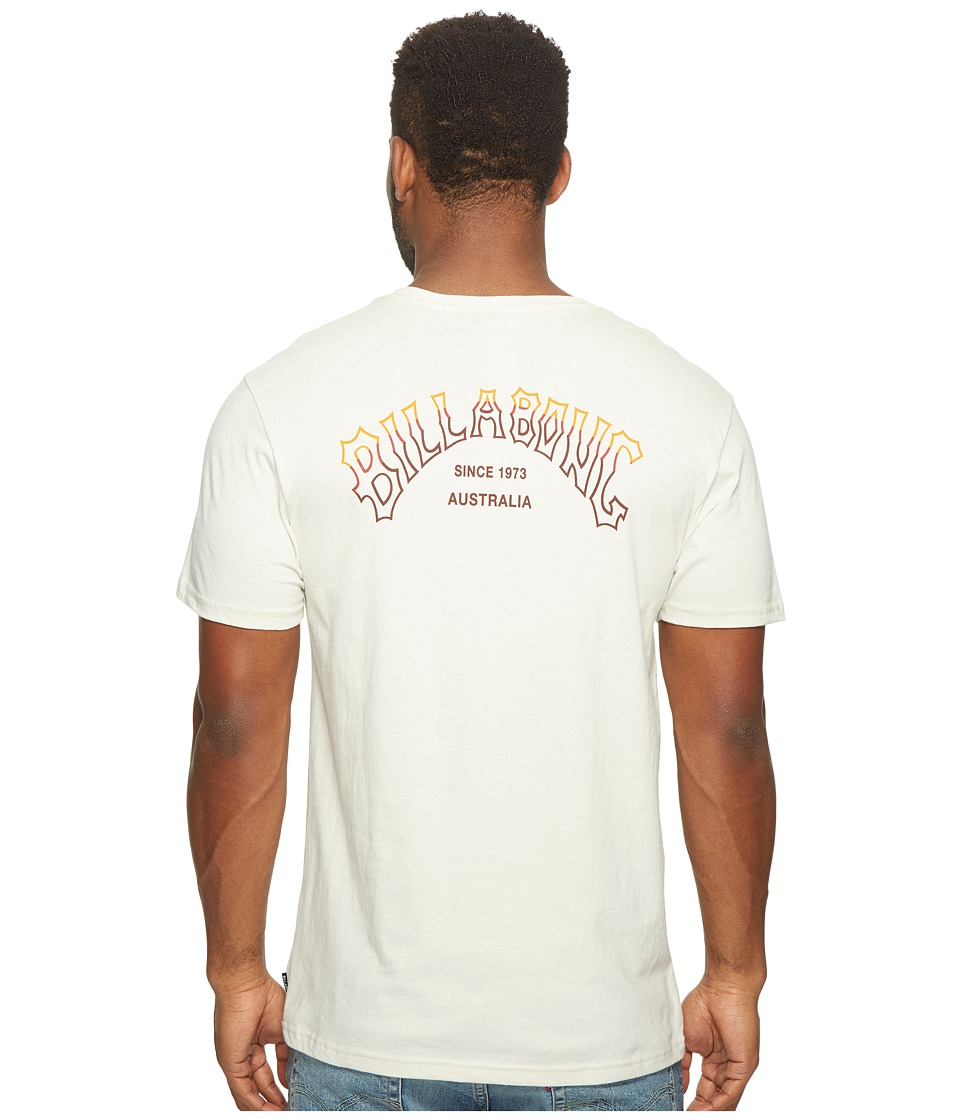 Billabong - Tri Arch Printed T-Shirt (Rock) Men's T Shirt