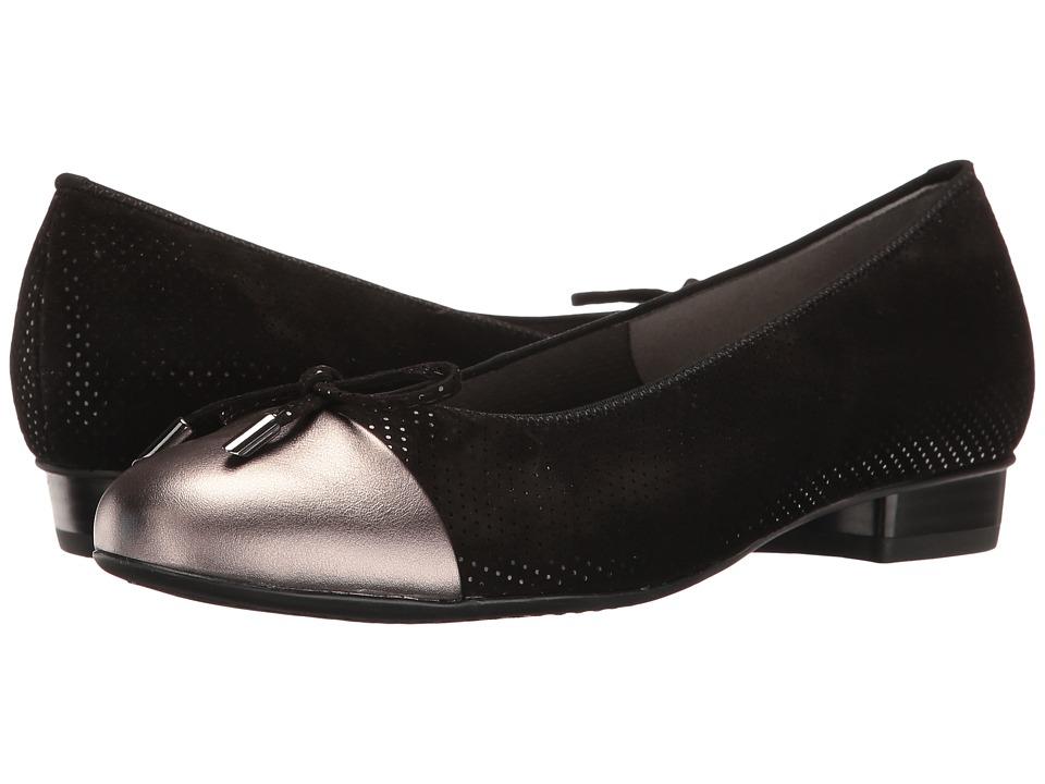 ara - Betty (Black/Street Combo) Women's Shoes