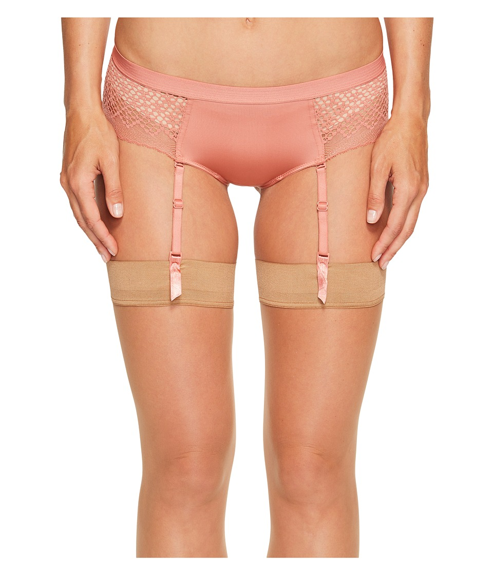 DKNY Intimates - Sheer Lace Garter (Canyon) Women's Underwear