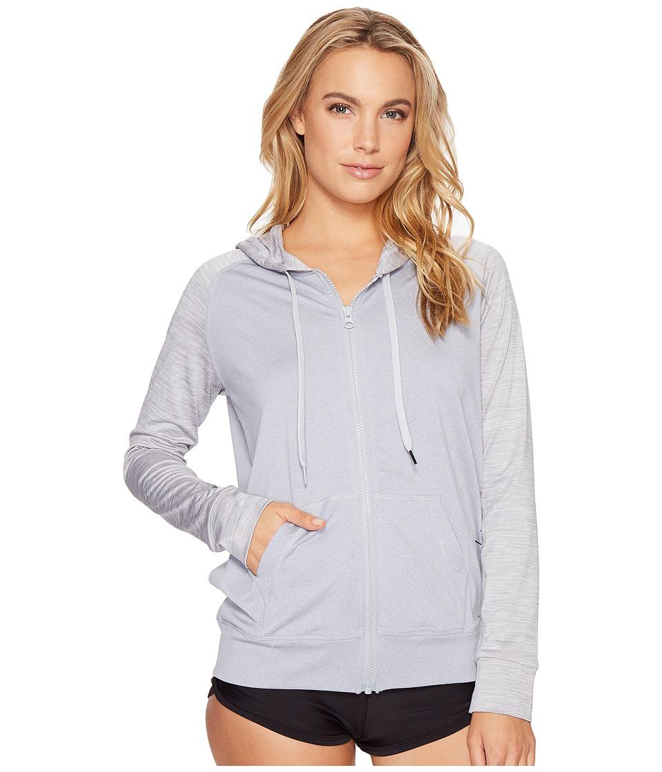 Rip Curl - Search Zip Hoodie (Grey) Women's Swimwear