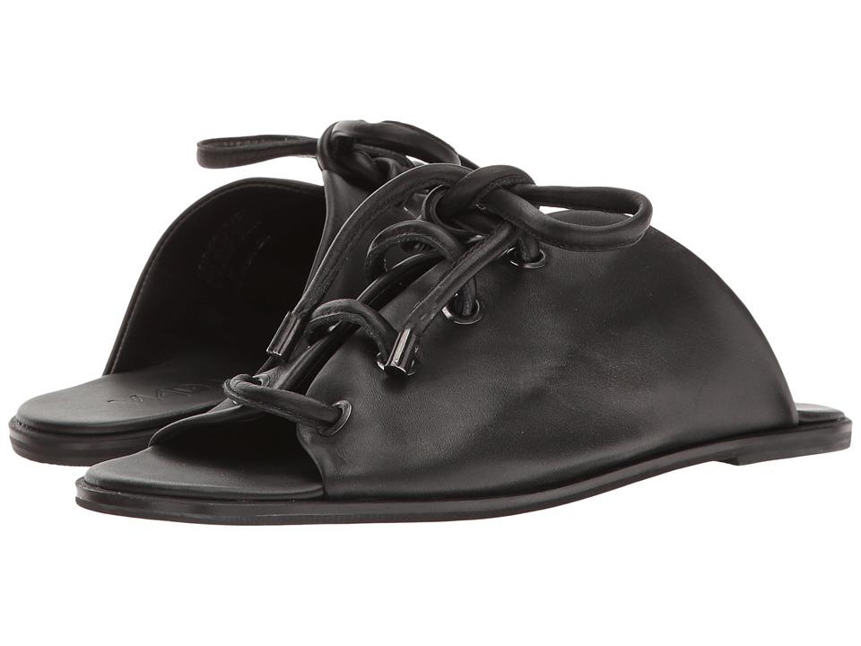 M4D3 - Preston (Black Glove Leather) Women's Sandals