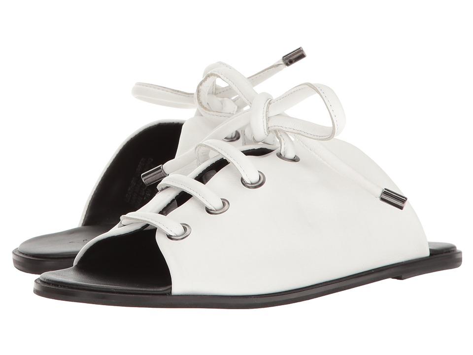 M4D3 - Preston (White Glove Leather) Women's Sandals