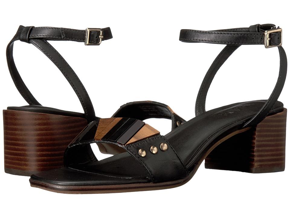 M4D3 - Summer (Black Baby Calf) High Heels