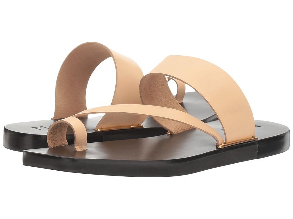 M4D3 - Capri (Nude Leather) Women's Sandals