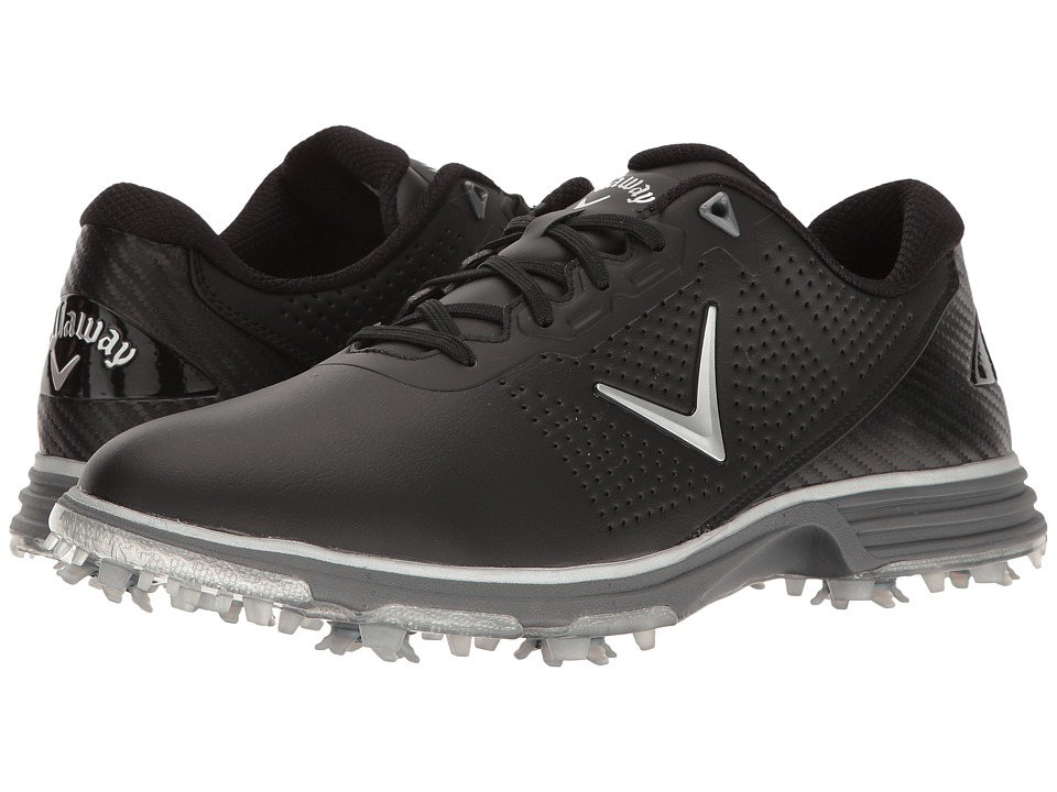 Callaway - Coronado (Black/Silver) Men's Golf Shoes