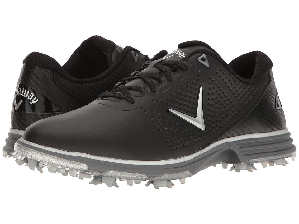 Callaway - Coronado (Black/Silver) Men's Golf Shoes