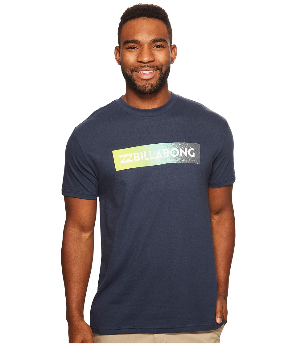 Billabong - Unity Block Printed T-Shirt (Navy) Men's T Shirt
