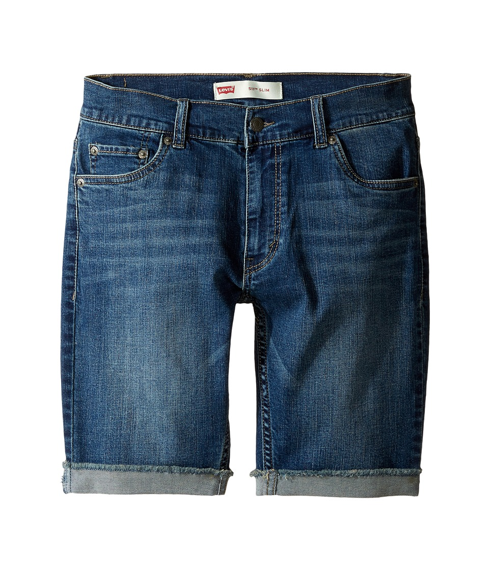 Levi's(r) Kids - 511 Cuffed Cut Off Shorts (Big Kids) (Vintage Falls) Boy's Shorts