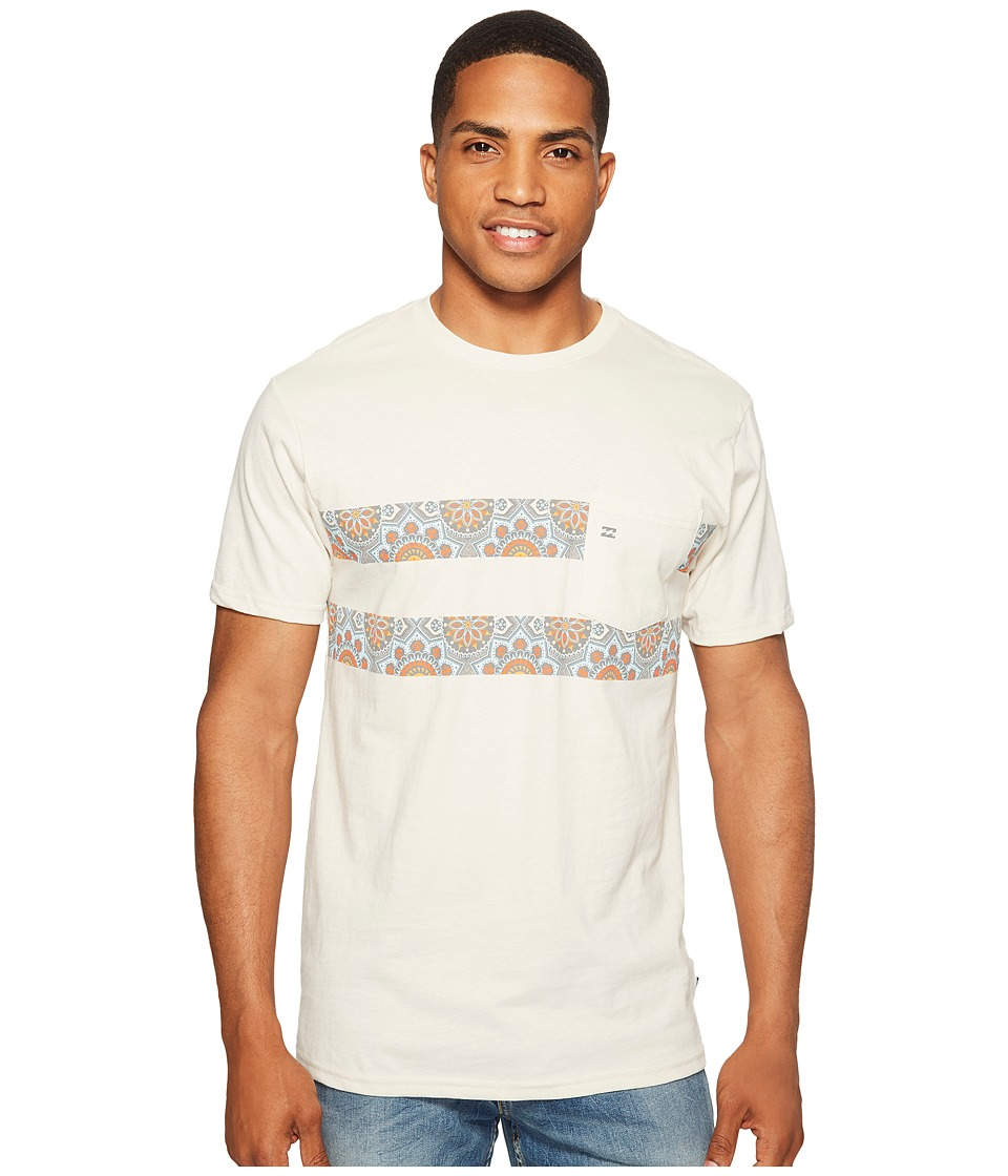 Billabong Line Up Spinner Printed T-Shirt (Rock) Men