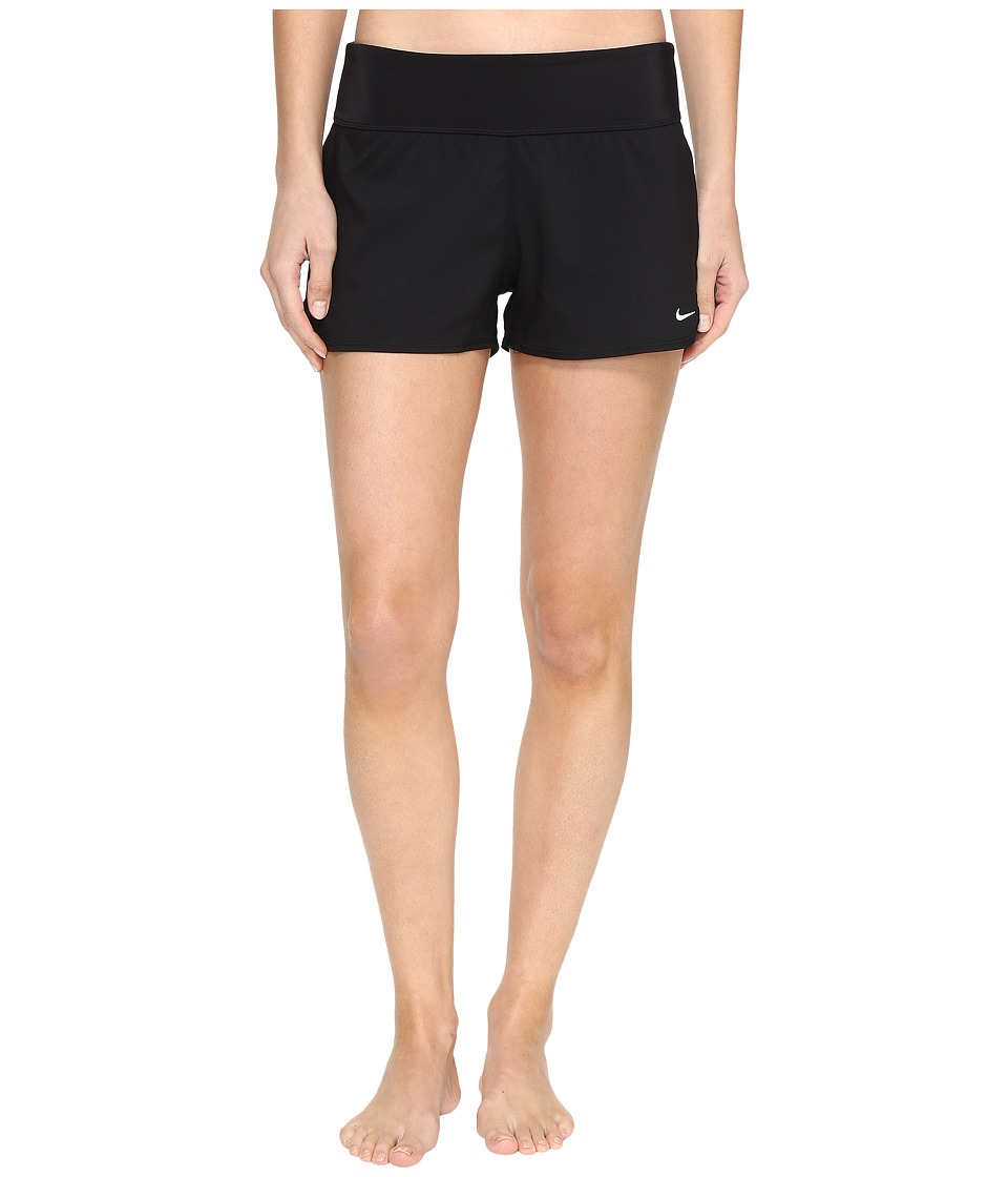 Nike Core Solid Seperates Swim Boardshorts (Black) Women
