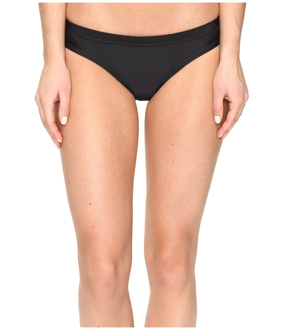 Nike - Core Solids Training Bikini Bottom (Black) Women's Swimwear