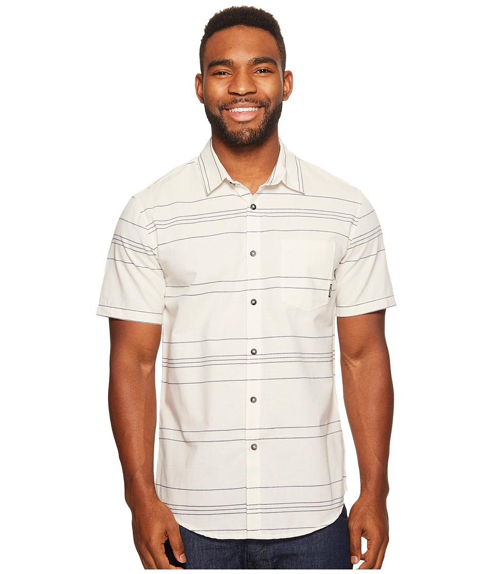 Billabong - Flat Lines Woven Top (Rock) Men's Clothing