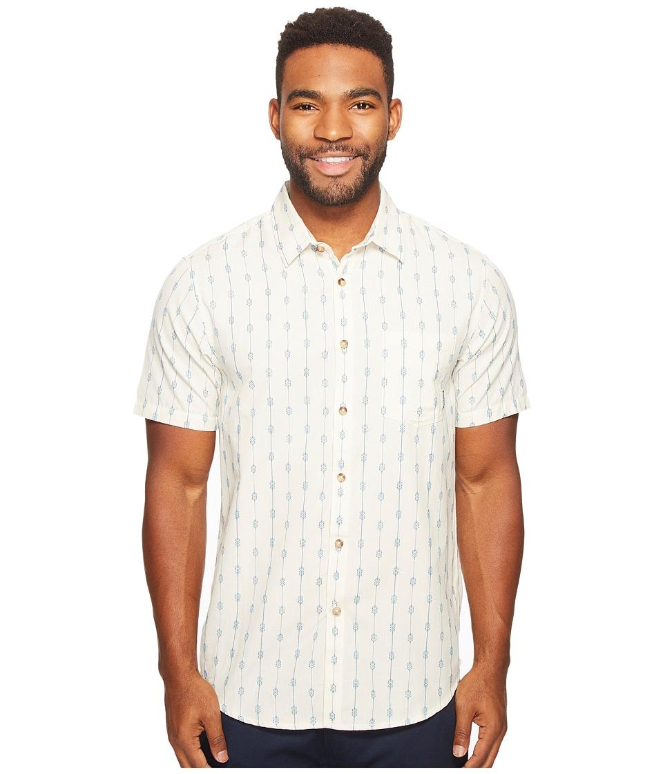 Billabong - Traveller Woven Top (Rock) Men's Clothing