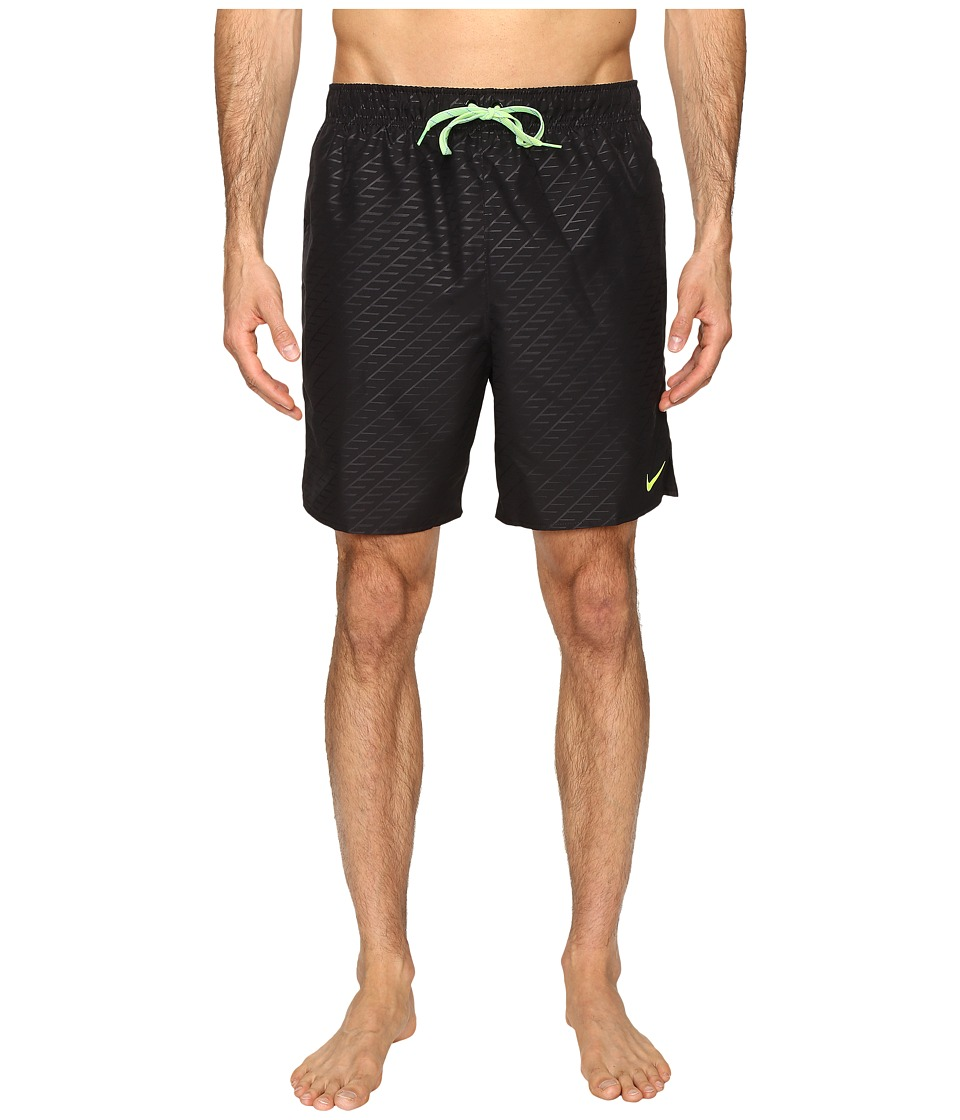 Nike Emboss 7 Volley Shorts (Black) Men