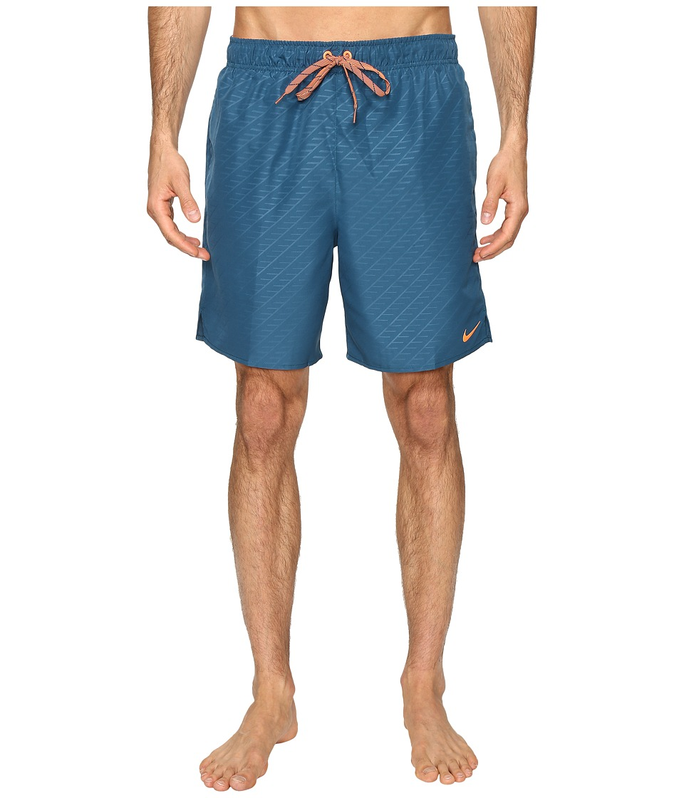 Nike - Emboss 7 Volley Shorts (Legion Blue) Men's Swimwear