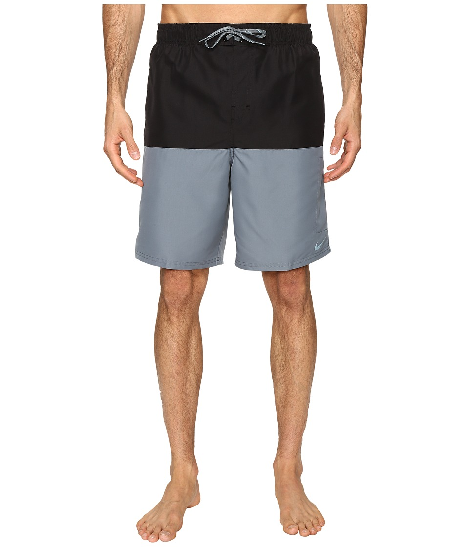 Nike Core Split 9 Volley Shorts (Black) Men