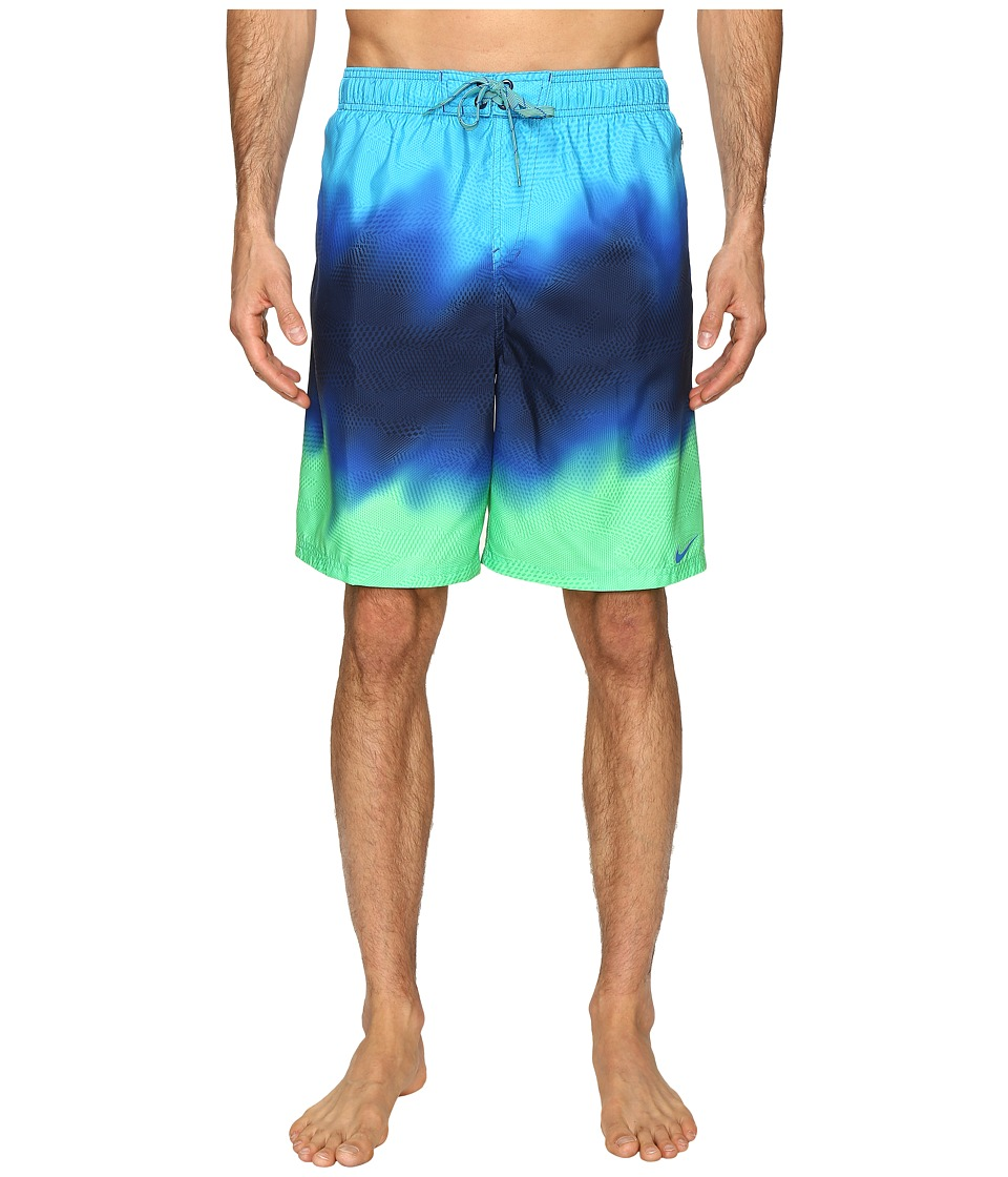 Nike Liquid Haze 9 Volley Shorts (Electro Green) Men