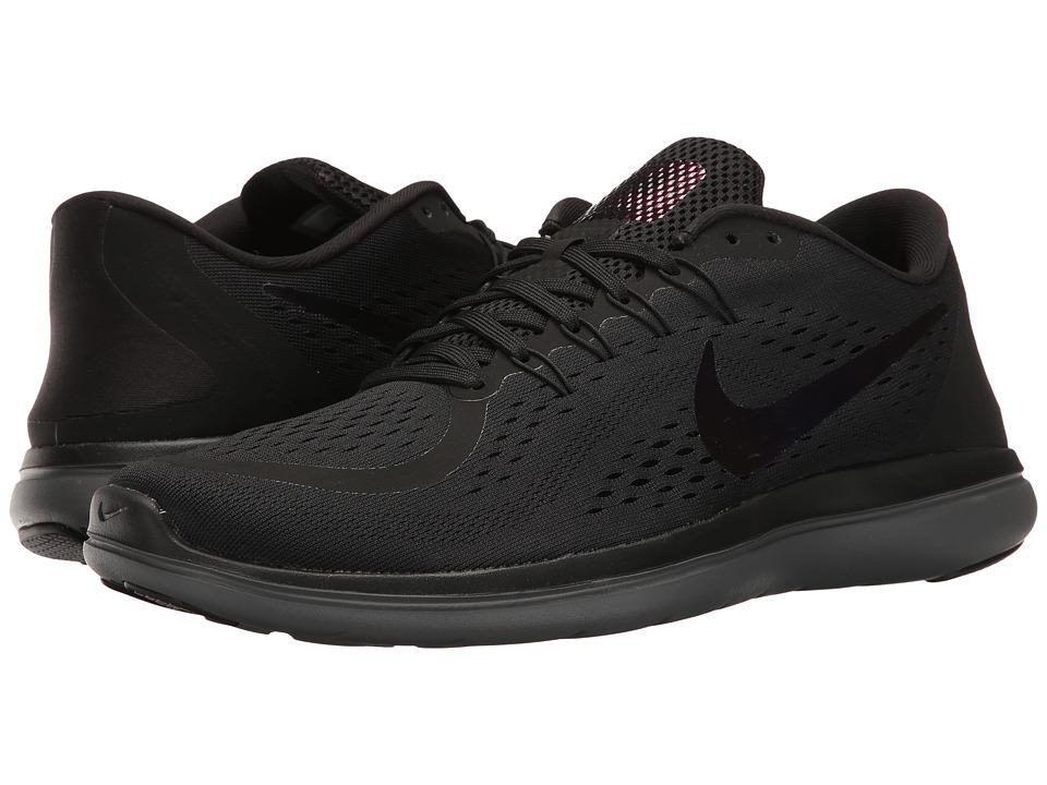 Nike - Flex RN 2017 BTS (Black/Dark Grey/Dark Red) Men's Shoes