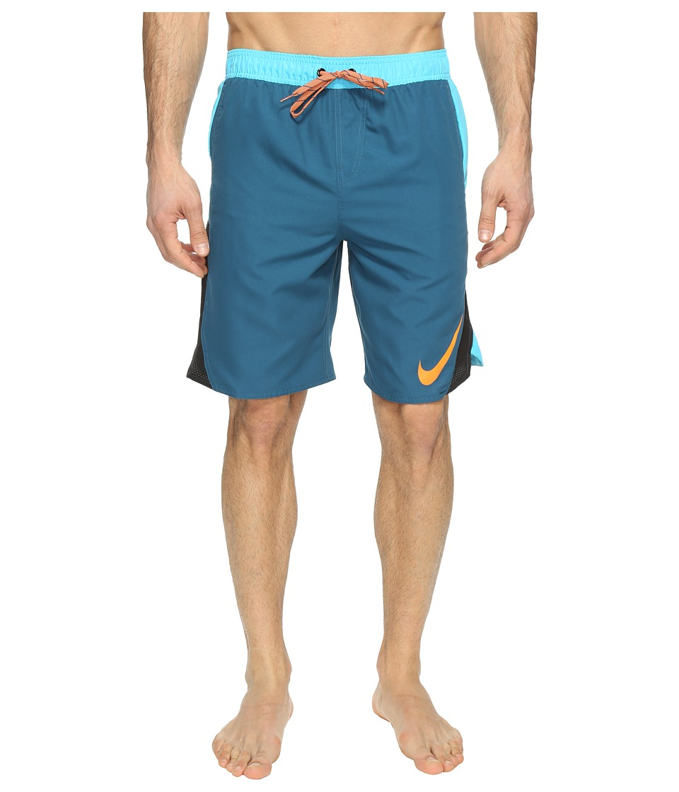 Nike - Blockforce 9 Volley Shorts (Legion Blue) Men's Swimwear