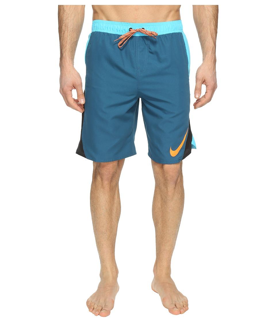 Nike Blockforce 9 Volley Shorts (Legion Blue) Men