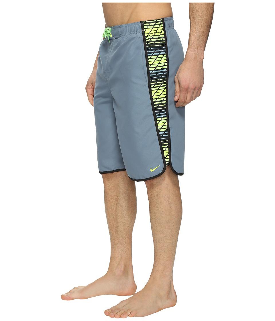 Nike Swift 11 Volley Shorts (Blue Graphite) Men