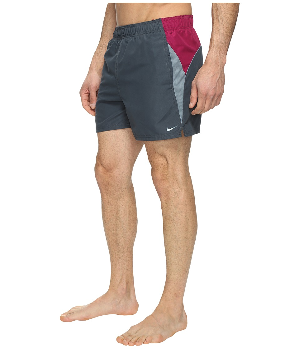 Nike Swift 4 Volley Shorts (Charcoal) Men