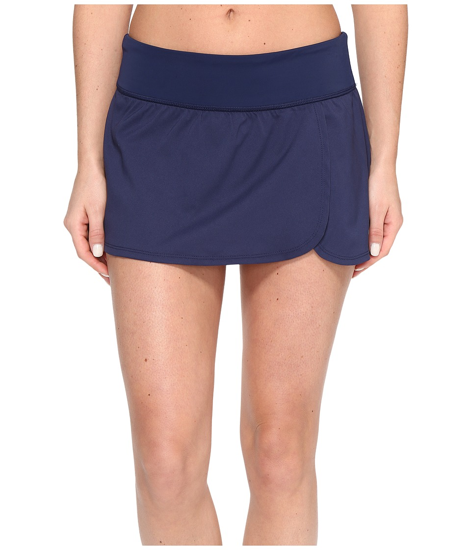 Nike - Core Solid Seperates Swim Boardskirt (Midnight Navy) Women's Swimwear