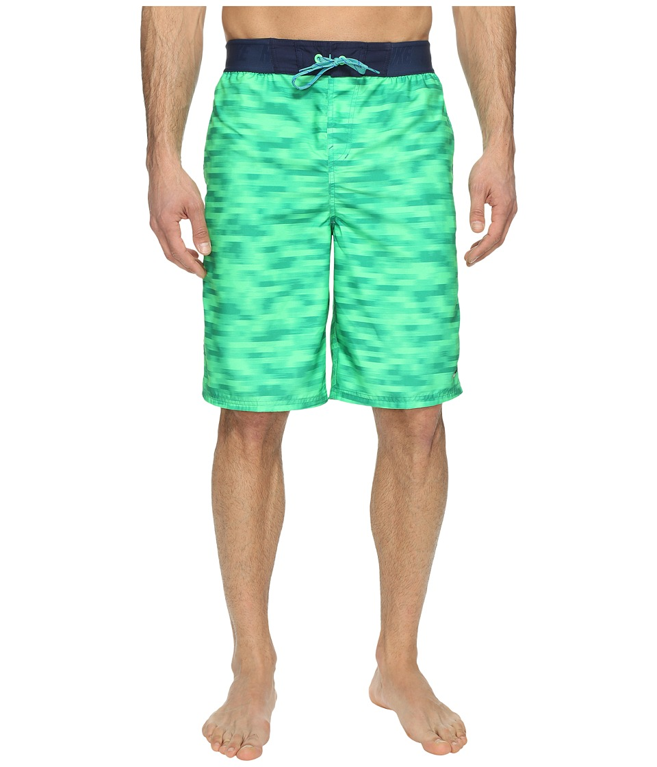 Nike - Flux 11 Volley Shorts (Electro Green) Men's Swimwear
