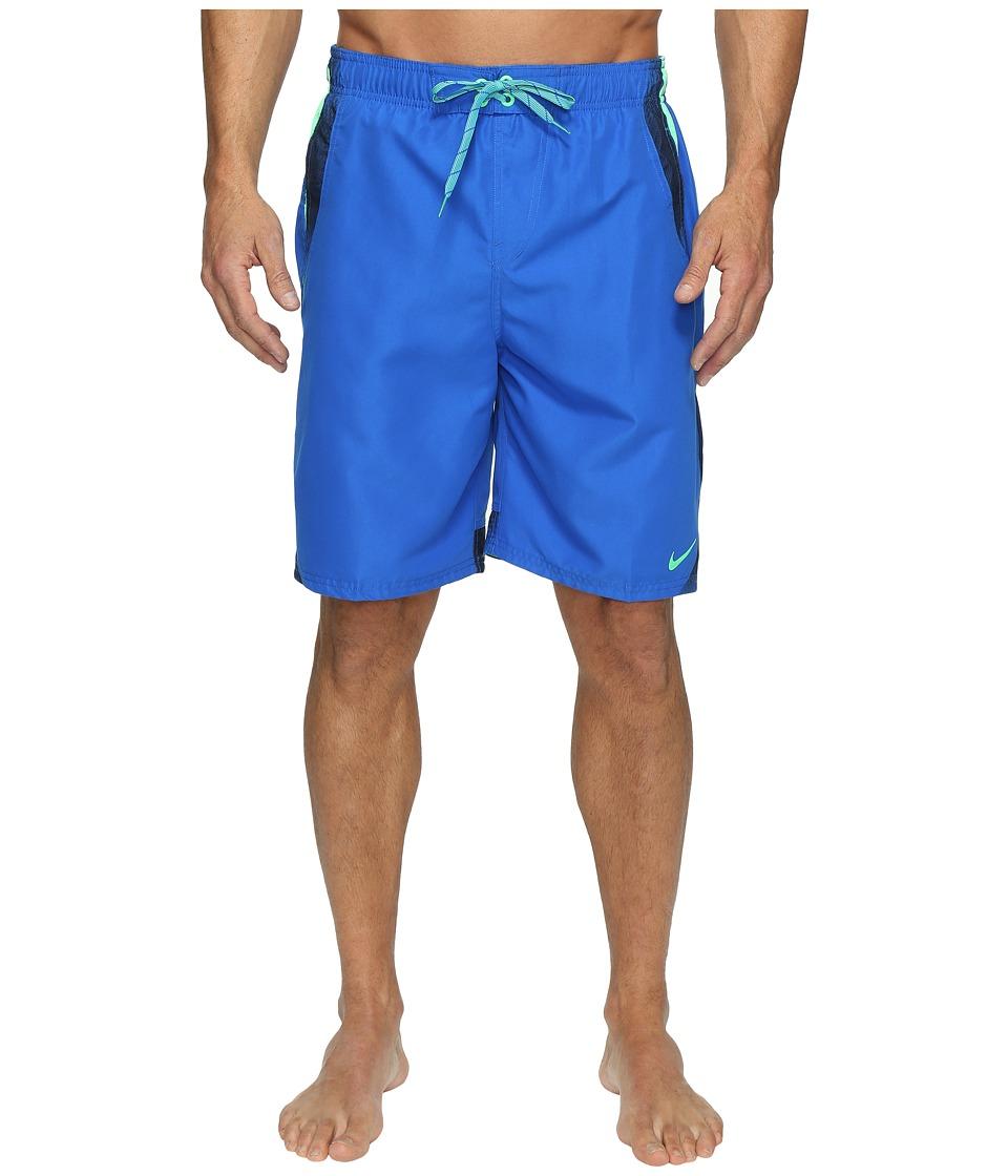 Nike Liquid Haze Splice 9 Volley Shorts (Hyper Cobalt) Men